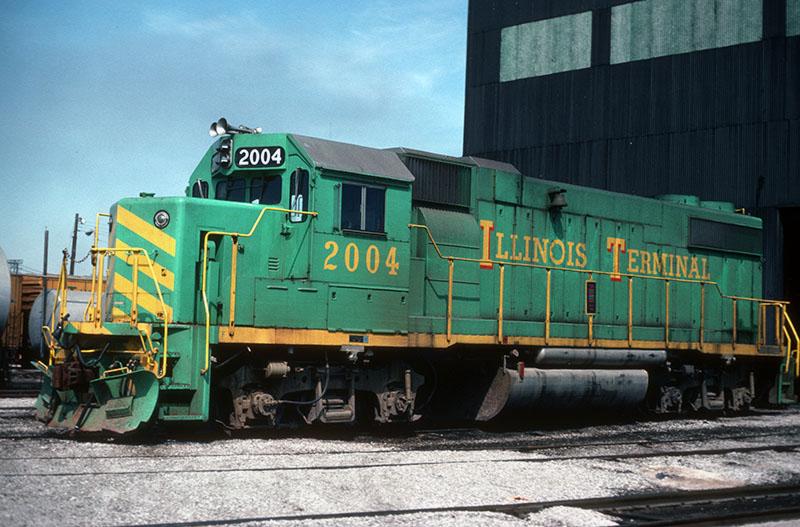 Four EMD GP38-2s for Illinois Terminal
