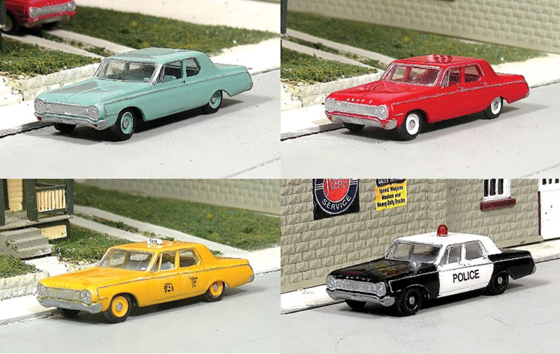 1964 Dodge 330s from Sylvan Scale Models