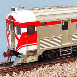 Canadian RDCs from Rapido Trains