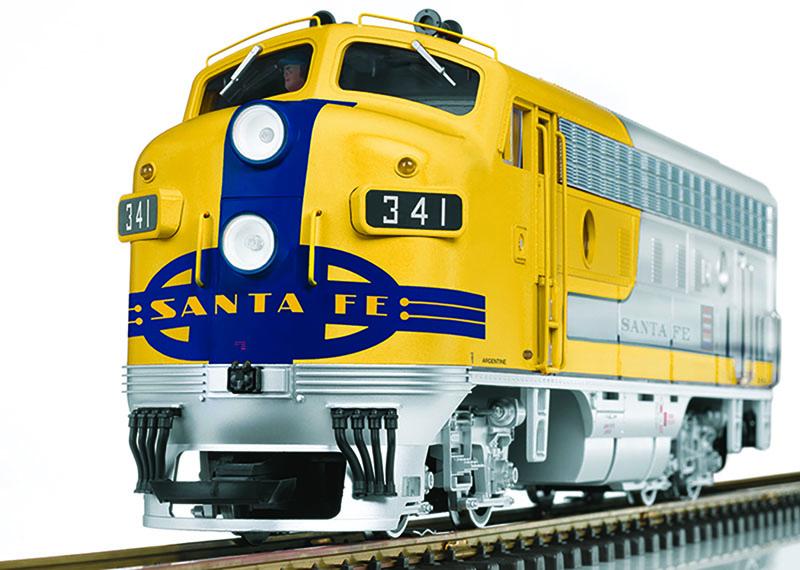 "LGB Santa Fe ""Yellowbonnet"" Exclusive to North American Club"