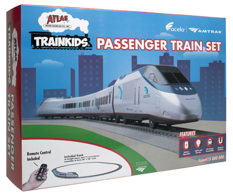 Atlas Trainkids Amtrak Acela set