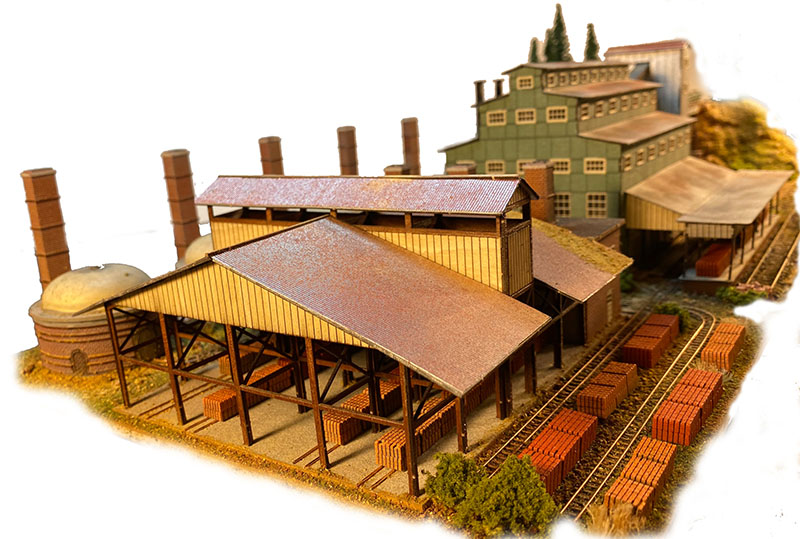 C&H Block & Brick kit from The N Scale Architect