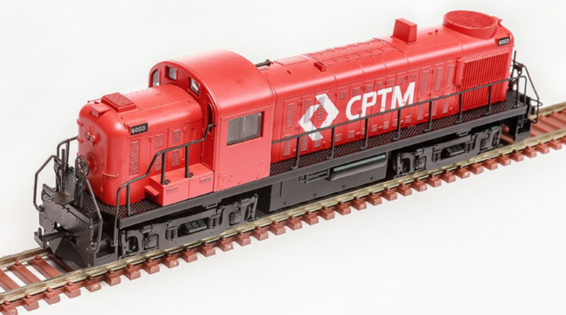 Brazil's Frateschi adds HO-scale Alco RS switchers