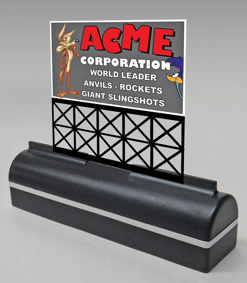 Acme sign from Miller Engineering