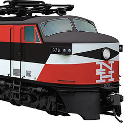 """Rapido Trains New Have EP-5 """"Jet"""" in HO scale"""