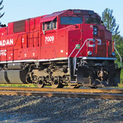 Canadian National and Norfolk Southern SD70ACU