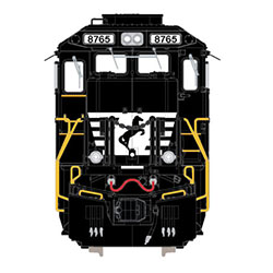 """Norfolk Southern """"Top Hat"""" coming to N scale"""