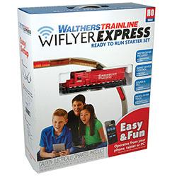 Walthers WiFlyer Express HO-scale train set