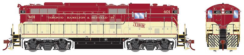 Prototype Profile: Toronto, Hamilton & Buffalo Diesels