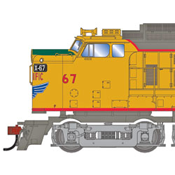 Union Pacific Veranda Turbine and Geeps from Athearn Genesis