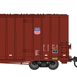 Union Pacific 3-pack announced for Micro-Trains' 60-foot high cube