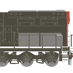 Athearn HO-scale SD40T-2s for early 2022 delivery