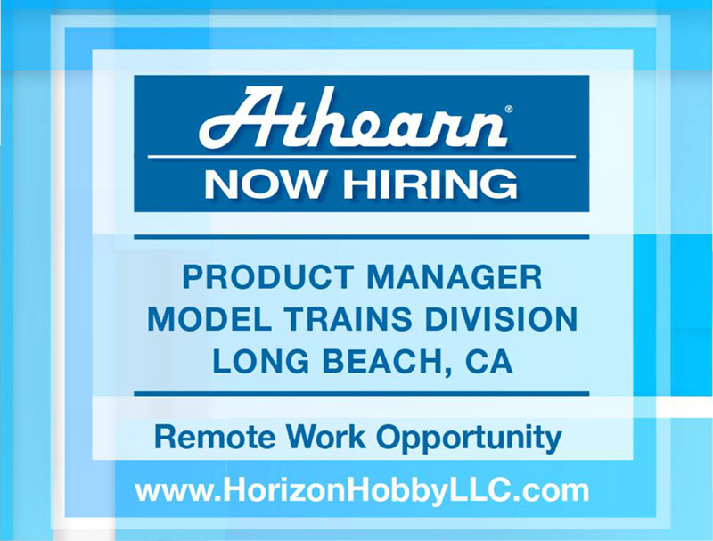 Athearn Product Manager Opportunity