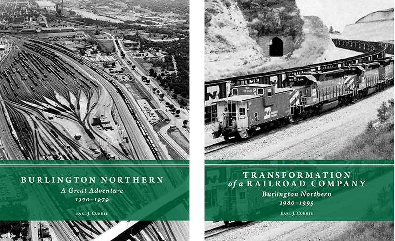 Burlington Northern history in two volumes