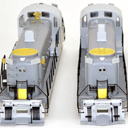 Update on Bowser's Alco RS-3 project