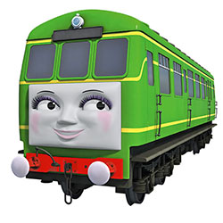 Thomas & Friends' Daisy in HO and James in N are coming from Bachmann