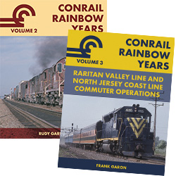 Garbely presents two more volumes featuring Conrail Rainbow Years