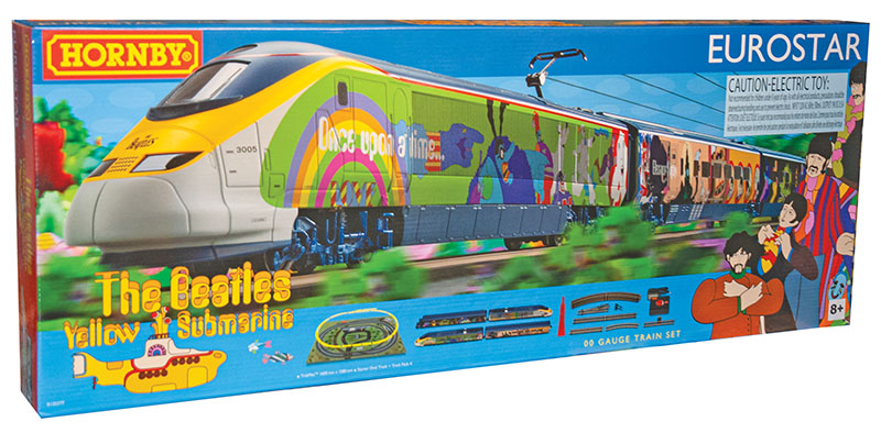 """Hornby's """"Yellow Submarine"""" Eurostar… You Supply the Blue Meanies"""