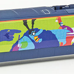 "Hornby's ""Yellow Submarine"" Eurostar… You Supply the Blue Meanies"