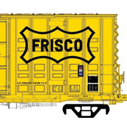 ACF hi-cube waffle boxcar coming in HO scale from Moloco Trains