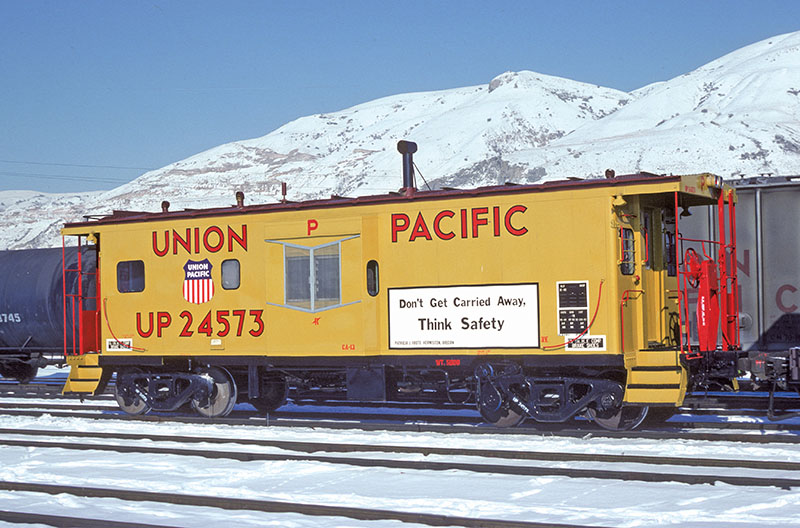 Ex-Rock Island Waycars for Union Pacific in N scale from Bluford Shops