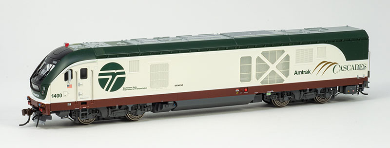 The Pacific Northwest's Own Charger: Bachmann's HO-scale Amtrak Cascades SC-44