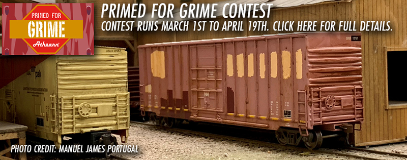 Athearn's Primed For Grime Contest