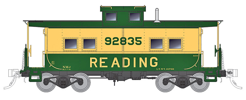 Rapido Trains announces definitive HO-scale Northeastern Design Caboose