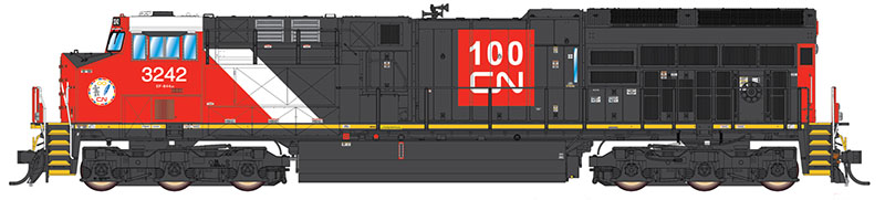Canadian National special liveries among coming HO GEVOs from InterMountain Railway