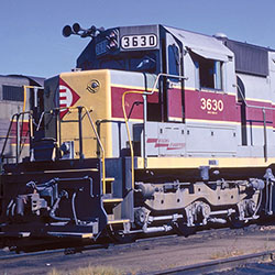 Erie Lackawanna SD45s