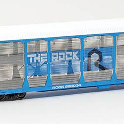 InterMountain Railway Co. bi-level auto racks feature exclusive hobby shop releases