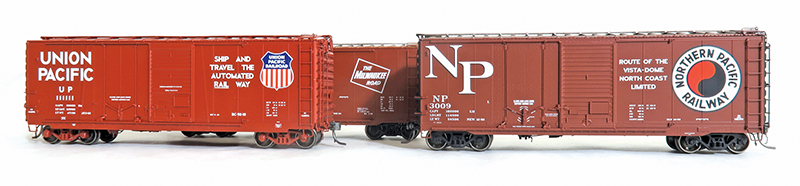 Tangent Scale Models' all-new HO-scale combination door boxcar is first in a new series
