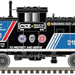 TrainWorld-exclusive Atlas HO cabooses