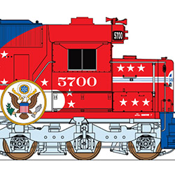 InterMountain Railway Santa Fe Bicentennial SD45-2s will be exclusive to The N Scale Enthusiast
