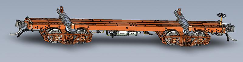 KR Models logging car for HO