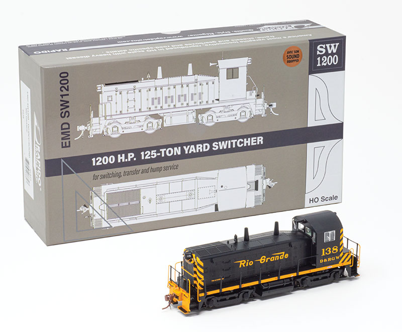Rapido Trains delivers all-new HO-scale SW1200