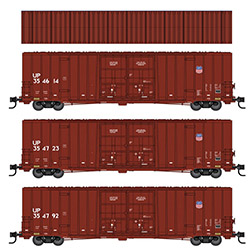 Micro-Trains will include roof detail variant on Union Pacific N-scale set