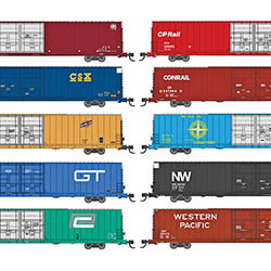 Bluford Shops will have new run for N-scale Pullman-Standard High Cubes