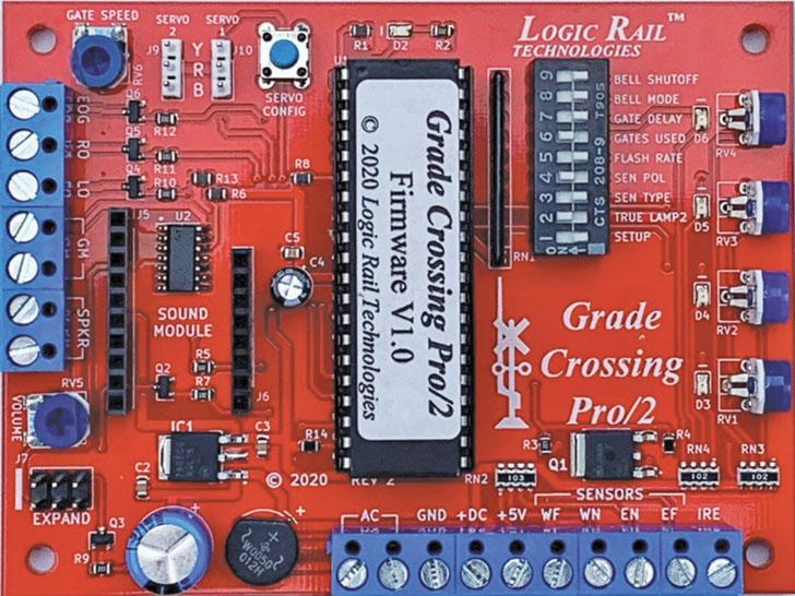 Grade Crossing Pro/2 from Logic Rail Technologies