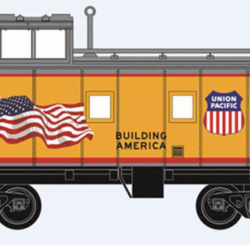 TrainWorld's exclusive UP models from Micro-Trains in N scale