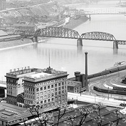 Pittsburgh Rail History: Pittsburgh & Lake Erie in Allegheny County